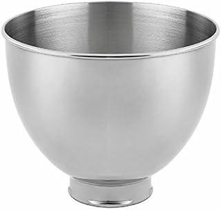 KitchenAid Replacement 4.5 Quart Mixing Bowl for K45,K45SS,KSM90,KSM75 (Renewed)