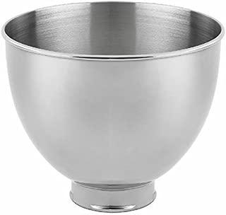 KitchenAid RK45SB Replacement 4.5 Quart Mixing Bowl for K45,K45SS,KSM90,KSM75 (Renewed)