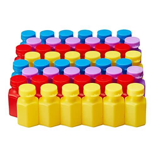 THE TWIDDLERS 48 Mini Bolle di Sapone, 17ml - Piccolo Giocattolo per Bambini