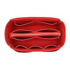 SIZE OF BAG ORGANIZER: Medium: 9.25(W)*5.9(H)*5.1(D) inch Fits Speedy 30 Perfectly.Slender Medium: 11.2(W)*6.5(H)*3.2(D)inch Fits Graceful PM. Large: 11.4(W)*7.1(H) *5.9(D)inch Fits Speedy 35 and Neverfull MM Perfectly. Slender Large: 13.78(W)*5.9(H)...
