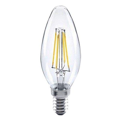 LED Filament Leuchtmittel Lampe Glühbirne | E14 | 2W ersatz für 25W | warmweißes Licht | 2700K | 230lm| B35
