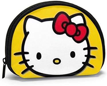 Munt Purse Change Portemonnee Hello Kitty Coin Pouch Draagbare Shell Opbergtas voor Vrouwen Meisjes