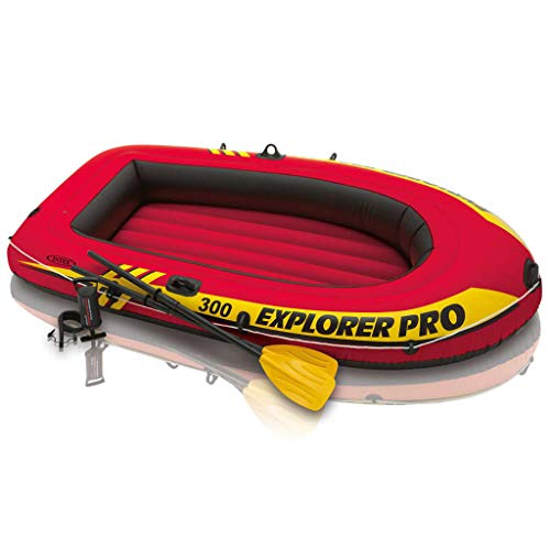 INTEX Barca Inflable Explorer Pro 300 58358NP con remos e hinchador
