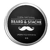 Rasierzeug Beard Balsam für Männer Wachstum Wachs Butter Styling Enthärter Conditioner Befeuchten Natural Ingredients