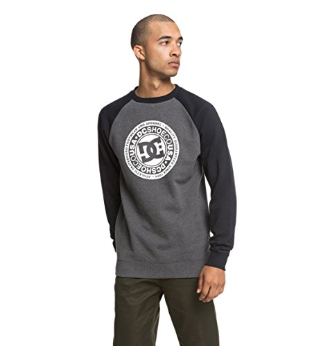 DC Shoes Circle Star - Sweatshirt for Men - Sweatshirt - Männer - M - Schwarz