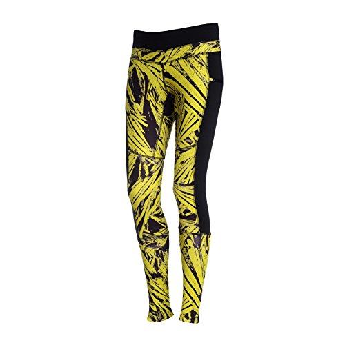 Nessi Leggings Chaud de osod 32L Pantalon de Course de Fitness Poches de Pantalon Respirant XS 32L Yellow Cristals Pro2