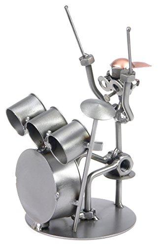 Schraubenmännchen Schlagzeug Drummer I Handarbeit I Geschenkidee I Metallfigur I Metallmännchen I Stahlfigur I Schraubenmännle