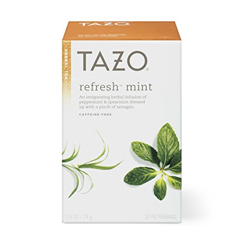 Tazo Refresh Mint Herbal Tea Filterbags (20 count)