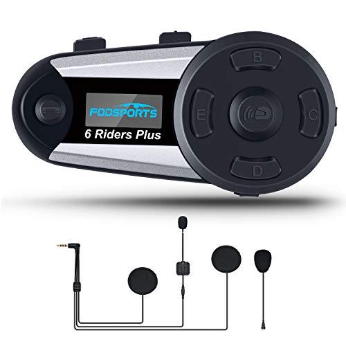 BTI moto de la motocicleta 2pcs Multi intercomunicador de Bluetooth...