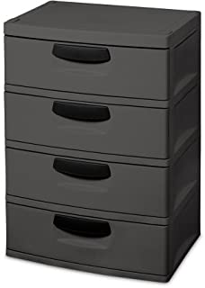 Sterilite 4-Drawer Cabinet Made of Heavy-Duty Plastic