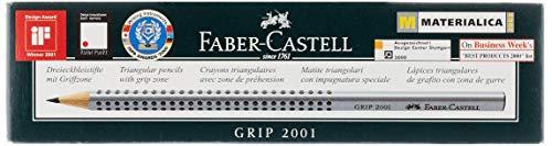Faber-Castell GRIP 2001 Bleistift 2B 12 Stück