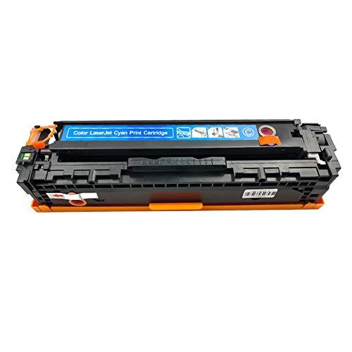 Reemplazo de cartuchos de tóner compatibles para HP 203A CF540A CF541A CF542A CF543A para HP Color LaserJet Pro M254nw M254dw M280nw M281fdn M281fdw Impresora láser con impresora-Blue