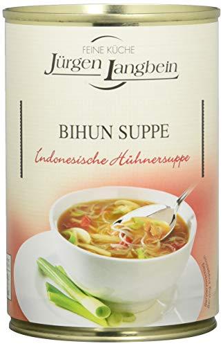 Jürgen Langbein Bihun-Suppe, Indones. Hühnersuppe, 6er Pack (6 x 400 ml)
