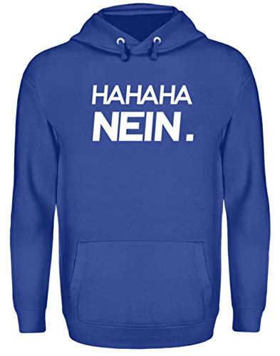 Generieke Haha Nee! Grappig sarkasme motief - Eenvoudig en grappig design - Unisex capuchontrui hoodie