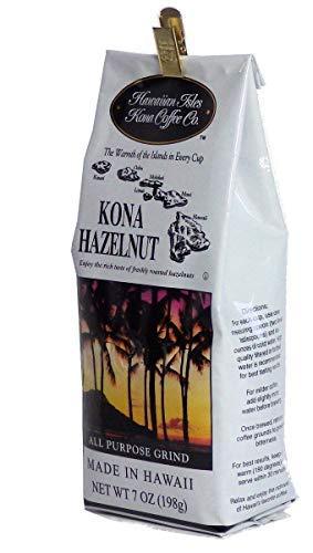 ハワイアンアイルズ レギュラーコーヒー コナ ヘーゼルナッツ 198g×1個