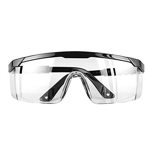 Honrik Safety Glasses, Sports Goggles Anti-Fog Protective Safety Goggles Basketball Glasses Wraparound UV Protection Safety Glasses Anti Scratch Glasses Resistant Lenses and Adjustable Strap