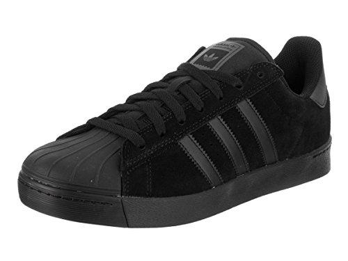 adidas Skateboarding Unisex Superstar Vulc Core Black/Core Black/Core Black Athletic Shoe (9 D(M) US)