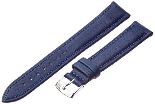 Morellato cinturino in pelle unisex Musa blu 18 mm A01X3935A69065CR18