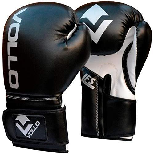 Luva De Boxe Training 14 Oz Vollo Sports Preta