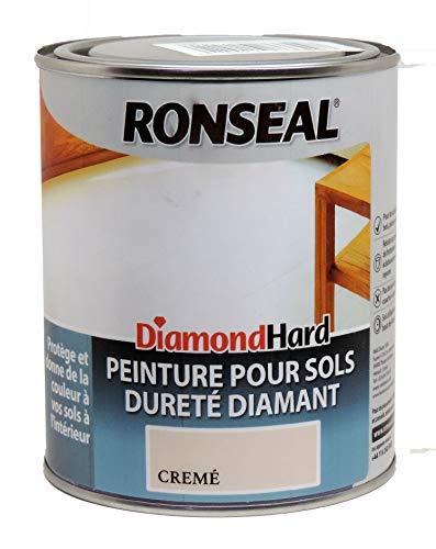 Ronseal Diamond Hard pintura para suelos de baldosas (2,5L color crema