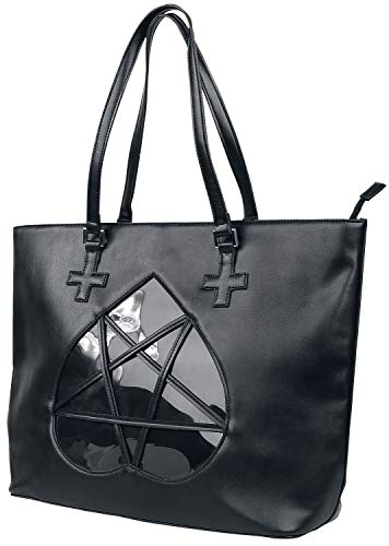 Banned Alternative Flash of Twilight Frauen Handtasche schwarz Polyurethan, Polyester Gothic, Rockwear