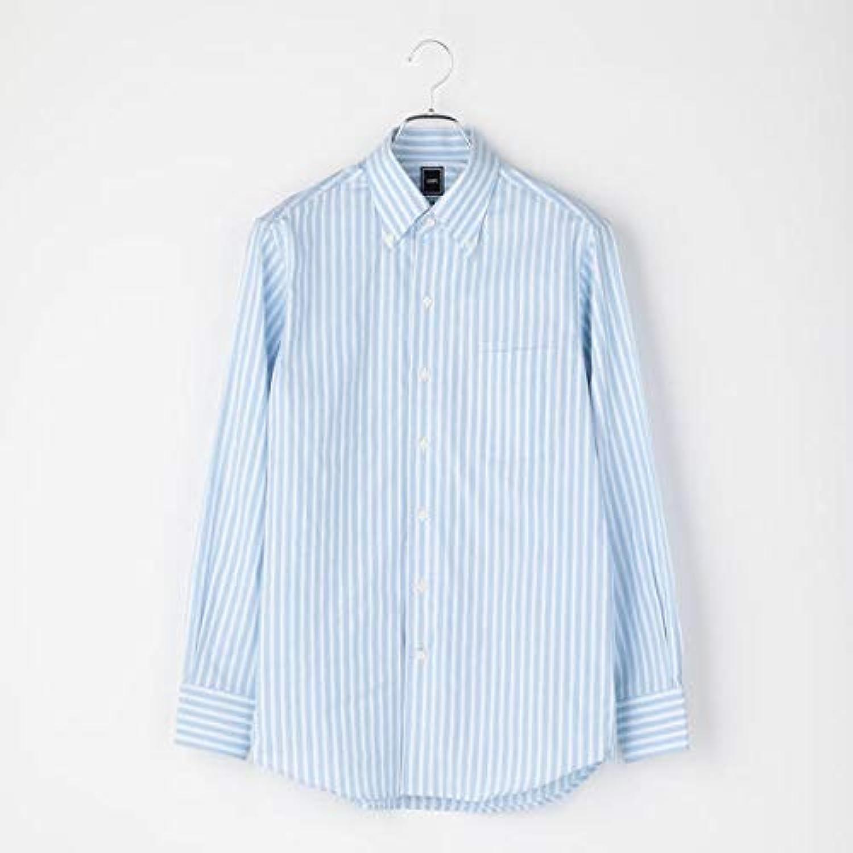 シップス(メンズ)(SHIPS) SD: オルタネートストライプ イタリアンボタンダウンシャツ(スカイブルー)