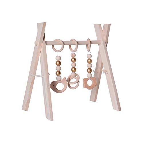 Juguete de madera para bebé, juguete de actividad de madera, juguete para el gimnasio, juguete de madera, juguete para bebé, para decoración de habitaciones de bebé