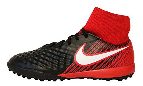 Nike Magista X Onda II DF TF 917796 061, Scarpe da Calcio Uomo, Nero (Black/White/University Red), 44.5 EU