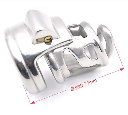 Roestvrij staal Ergonomisch ontwerp Nieuw ademend ontwerp Geschikt voor de meeste mannen (52 mm) -58