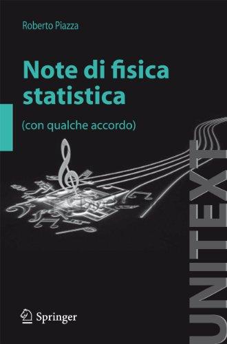 Note di fisica statistica (con qualche accordo)