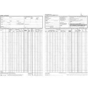 RNK Lohn- und Gehaltskontobuch A4 20 Blatt