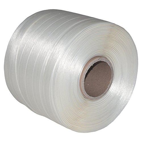 1 Rolle Umreifungsband 19 mm Breite Länge je 250 m Reißfestigkeit 550 KG für Ballenpresse Kern 60 mm