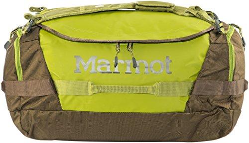 Marmot Long Hauler Duffel Bag Medium, Robuste Reisetasche, Sporttasche, Weekender, 50L Fassungsvermögen, citron/dark Raven