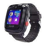 Elari 4G Reloj Inteligente Niño y Niña GPS Localizador y Llamadas Bidireccionales Audio y Video, Chat de Voz, Botón SOS, Impermeable, Cámara, MP3 Musica, Juegos KidPhone 4G (Negro)