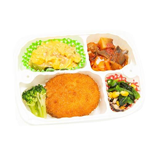 みしまの御膳ほのか たんぱく調整食(冷凍弁当)かにクリームコロッケ 低たんぱく 塩分調整 冷凍食品 200g