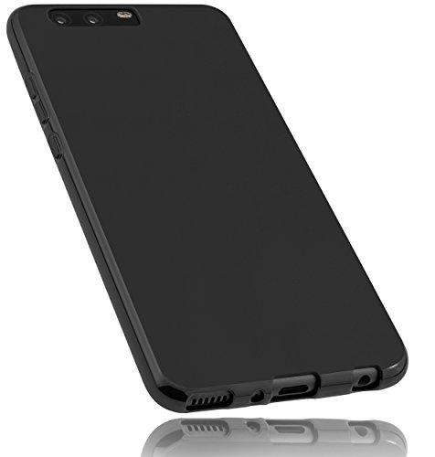 mumbi Hülle kompatibel mit Huawei P10 Plus Handy Hülle Handyhülle, schwarz