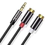 Adaptador audio con conector jack de 3,5mm Hama 043254