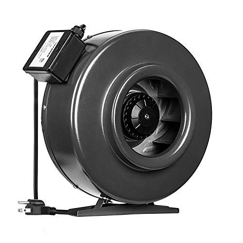 VIVOSUN 8 Inch 740 CFM Inline Duct Fan Vent Blower Ventilation Fan for Grow Tent ETL Certified