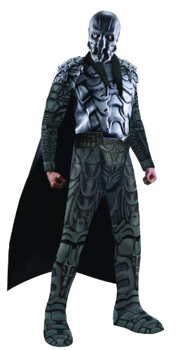 Rubies Superman Man Of Steel Official Fancy Dress Deluxe Adult Muscle Chest General Zod Costume