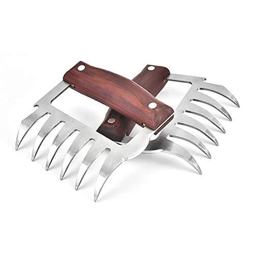 XGzhsa Trituradora de Garras de Carne, Juego de Garras de Carne, 2...