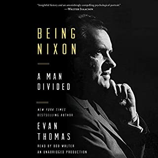 Being Nixon audiobook cover art