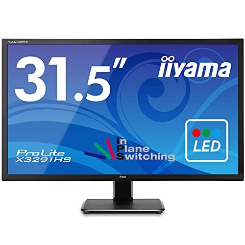 iiyama モニター ディスプレイ X3291HS-B1 (31.5インチ/フルHD/AH-IPS/HDMI,D-sub,DVI-D/3年保証)