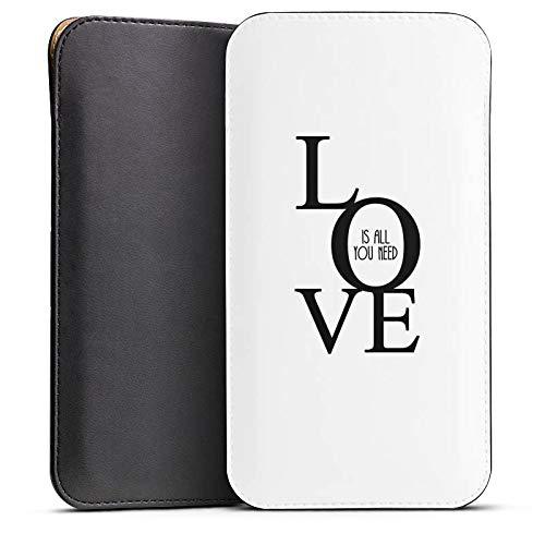 DeinDesign Cover kompatibel mit Wiko Highway Pure Hülle Tasche Sleeve Socke Schutzhülle Love Liebe Amour