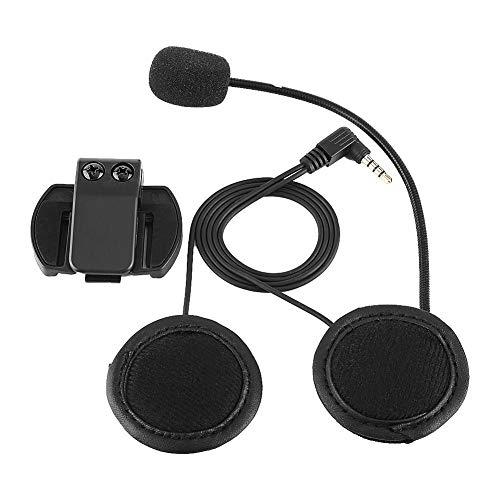 KIMISS Casco de Motocicleta Auricular Auricular Bluetooth Auricular Micrófono para V4/V6 Casco de Motocicleta Intercomunicador Accesorios