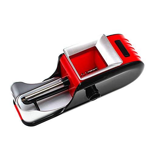 Fankr Mini Zigaretten Stopfgerät Maschine Für Zigaretten Vollautomatisch Rolling, Bequem Und Schnell Das Geschenk des Menschen Rot