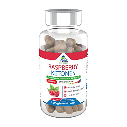 #1 Strongest Raspberry Ketones for Weight Loss 2000mg Maximum Strength Increase Fat Burn Boost Metabolism Pure Raspberry Ketones with All Natural Raspberry Fruit Extract Made in The UK