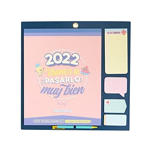 Calendario de pared - 2022, vamos a pasarlo muy bien