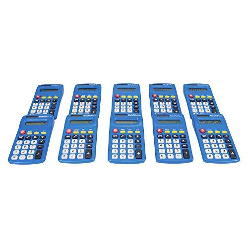 EAI Education CalcPal EAI-80 Solar Basic Calculator - Set of 10