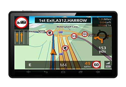 Aguri Motorhome & Caravan AGR520 DVR 5  Motorhome and Caravan Sat Nav with Built-in Dash Cam, Wi-Fi and UK & European mapping.