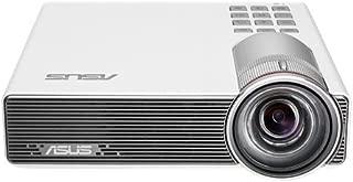 ASUS P3B 800-Lumens 1280 x 800 Ultra-Short-Throw 12,000mAh Battery HDMI/MHL VGA microSD Reader USB Portable Wireless LED Projector